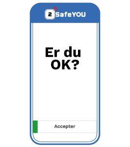 Lone-Worker App - App'en sporger om du er OK