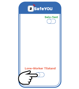 Lone-Worker App Start beskyttelsen alene arbejde